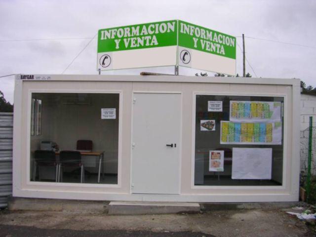 Venta y alquiler de casetas de obra for Casetas segunda mano