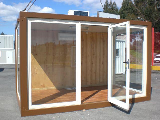 Venta y alquiler de casetas de obra for Casetas jardin segunda mano