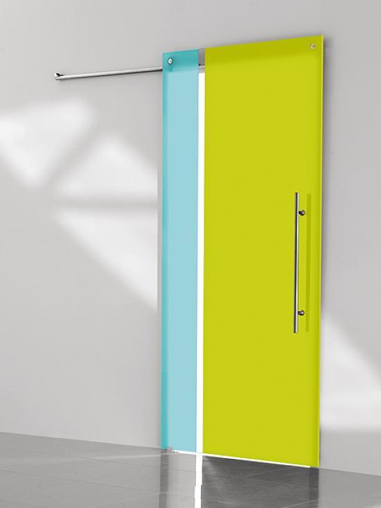 puerta corredera de cristal casali system zero